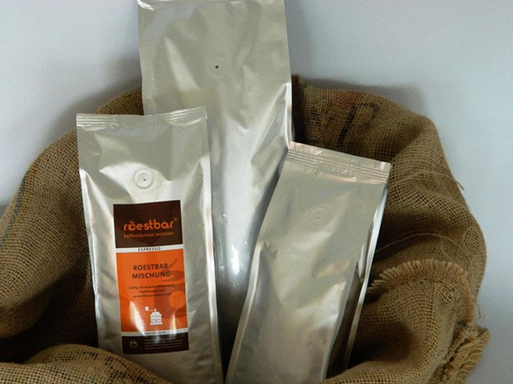 stroebel kaffeeverpackung